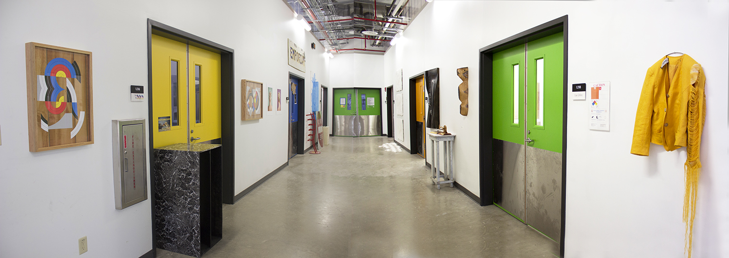 Each Graduate Student Is Provided A Private Studio Space Either In The Well Ventilated 2D Studios Or New Sculpture Ceramics Building Seen Above